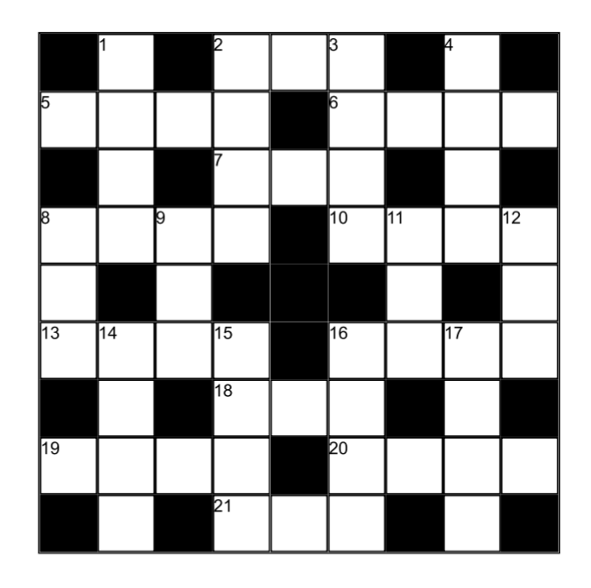 cross word puzzle